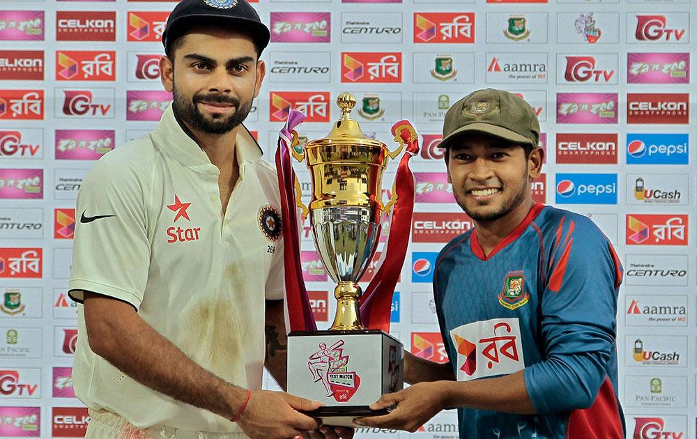 ভারত-বাংলাদেশ টেস্টের সূচীতে রদবদল 1