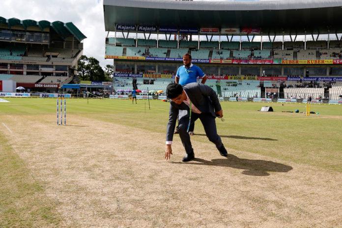 ইন্ডিয়া বনা শ্রীলঙ্কা প্রথম টেস্ট : ইডেনে প্রথম টেস্টে ভালো উইকেটের প্রতিশ্রুতি দিলেন সৌরভ