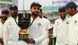 ইন্ডিয়া, শ্রীলঙ্কা প্রথম টেস্ট ২০১৭: বিরাটের সামনে সৌরভের রেকর্ড ছোঁয়ার হাতছানি 2