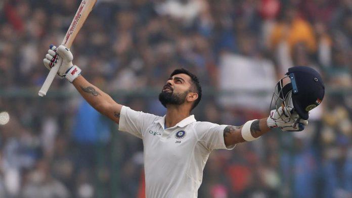 ভারত বনাম শ্রীলঙ্কা তৃতীয় টেস্ট : ব্রায়ান লারার রেকর্ড ভেঙে টেস্টে ষষ্ট ডবল সেঞ্চুরি বিরাটের