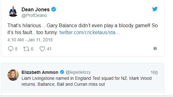 নিউজিল্যান্ডের বিরুদ্ধে টেস্ট সিরিজের জন্য ইংল্যান্ডের নির্বাচিত টেস্ট দলকে 'হিলারিয়াস' আখ্যা দিলেন জোন্স