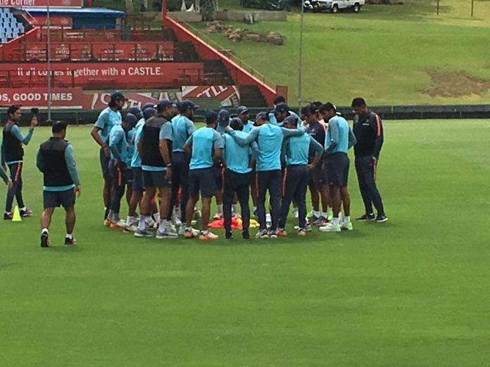 দক্ষিণ আফ্রিকা বনাম ভারত ২০১৮ : সেঞ্চুরিয়ানে দ্বিতীয় টেস্টের আগে টিম ইন্ডিয়ার অদ্ভূত প্র্যাকটিস সেশন