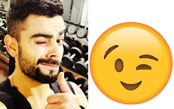 World Emoji Day: বিরাট কোহলির ১০ টি ইমোজির মত ভঙ্গি যা দেখে আপনি হাসতে হাসতে গড়িয়ে পড়বেন মাটিতে 3