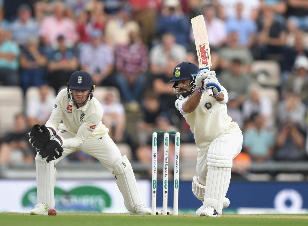 ভারত বনাম ইংল্যান্ড: দ্বিতীয় দিন লাঞ্চ পর্যন্ত ব্যাকফুটে ইংল্যান্ড, ২ উইকেট হারিয়ে ভারতের নামে ১০০ রান 1