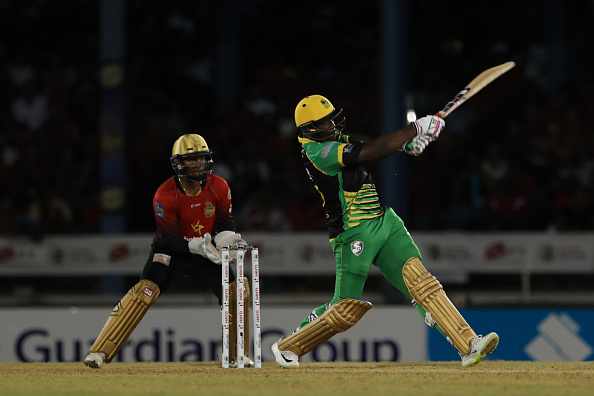 CPL-2018: Andy Russell has achieved a hat-trick with a century and a ball in the same match