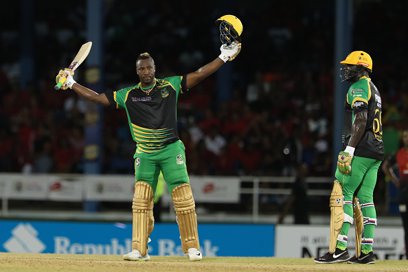 CPL-2018: Russell has achieved a hat-trick with a century and a ball in the same match