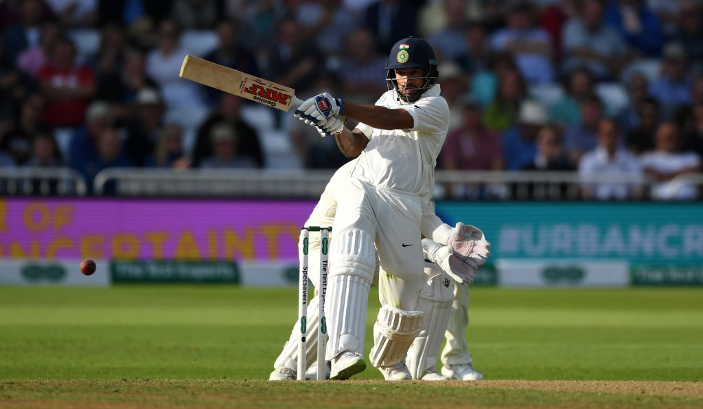 ইংল্যান্ড বনাম ভারত: তৃতীয় টেস্ট—৪৪ রান করার পরও এমন অনিচ্ছাকৃত রেকর্ড করে করলেন ধবন, লাগল দাগ 3