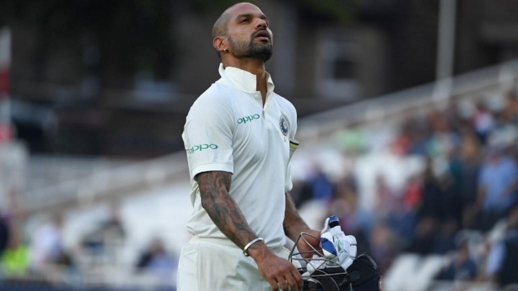ইংল্যান্ড বনাম ভারত: তৃতীয় টেস্ট—৪৪ রান করার পরও এমন অনিচ্ছাকৃত রেকর্ড করে করলেন ধবন, লাগল দাগ 4