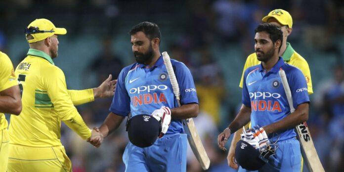 সিডনি ওয়ানডে: অস্ট্রেলিয়া ভারতকে ৩৪ রানে হারালো