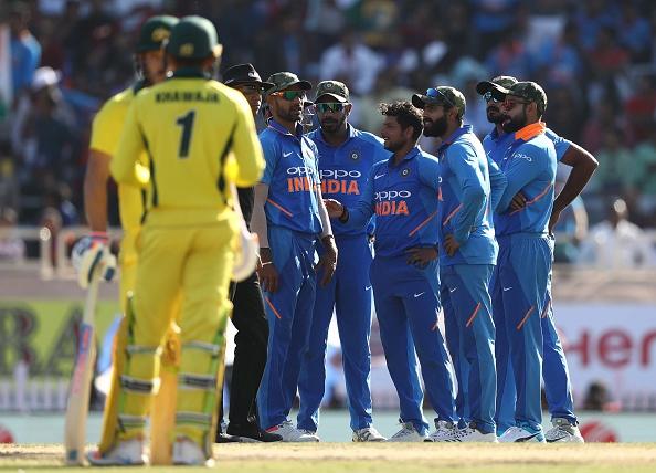 INDvAUS:STATS: চতুর্থ ওয়ানডেতে হল মোট ১১টি রেকর্ড, ভারতীয় দল হারের সঙ্গেই গড়ে ফেলল এই লজ্জাজনক রেকর্ড 2
