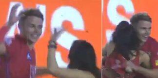 WATCH: কিংস ইলেভেন পাঞ্জাবের জয়ের পর স্যাম ক্যুরেন প্রীতি জিন্টার সঙ্গে করলেন এমন কিছু অবাক হবেন আপনিও