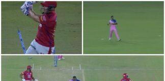 WATCH: ডেভিড মিলার বোল্ড হওয়া সত্ত্বেও পাঞ্জাব দল দৌড়ে হাসিল করল ৩ রান