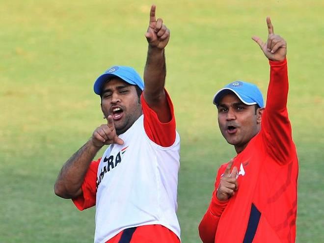 IPL 2019: ৬ ৬ ৬এর সঙ্গে ধোনি খেললেন ৭৫ রানের ঝোড়ো ইনিংস, তো প্রসংসায় সেহবাগ বললেন এই কথা 7