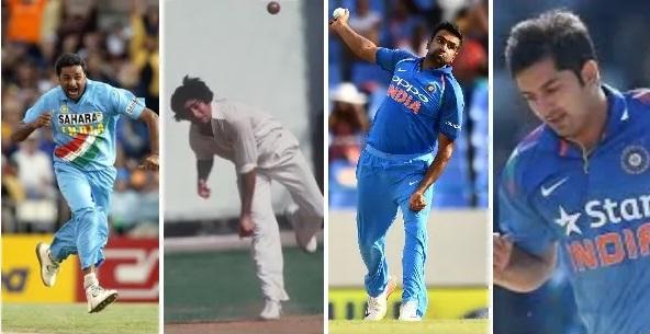 বিশ্বকাপ ২০১৯: বিশ্বকাপের এক ইনিংসে সবচেয়ে বেশি রান খরচা ভারতীয় বোলার 7