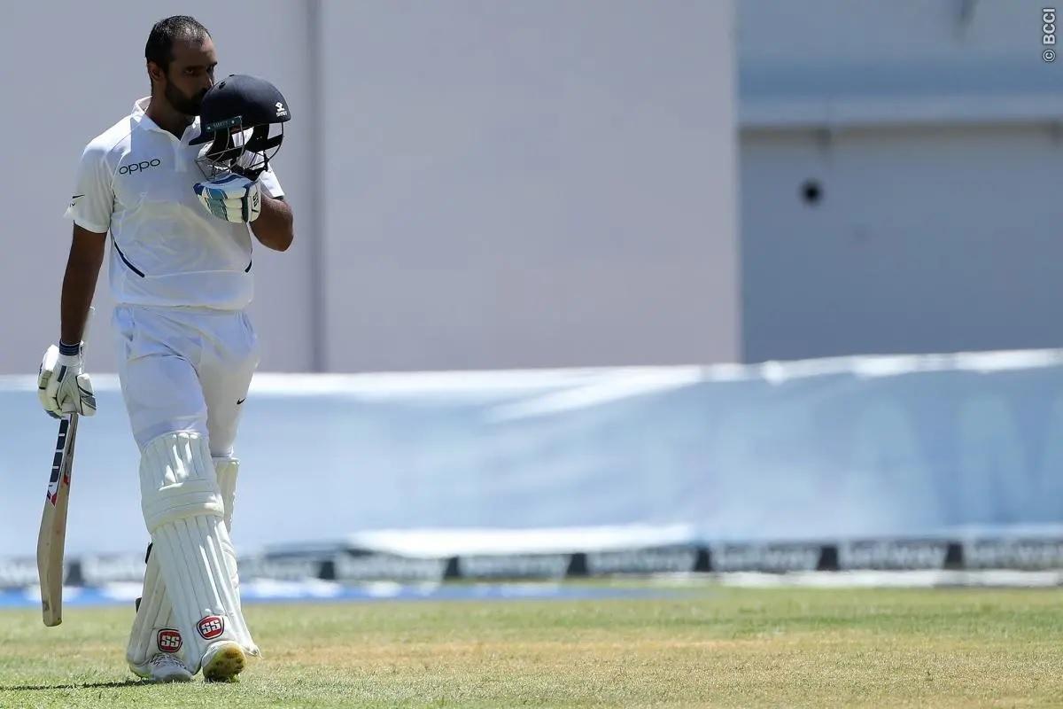 WIvsIND: ভারতের প্রথম ইনিংস ৪১৬ রানে শেষ, হনুমা বিহারীর দুর্দান্ত সেঞ্চুরি