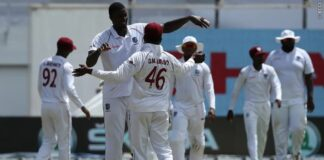 WIvsIND:ওয়েস্টইন্ডিজের দুর্দান্ত বোলিং সত্ত্বেও ভারত নিল ৩৭২ রানের লীড, ব্যার্থ শীর্ষক্রম