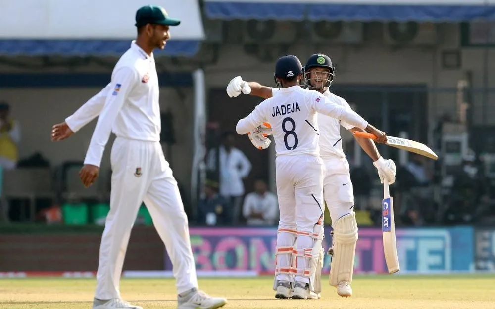 INDvsBAN: ময়ঙ্ক আগরওয়ালের ডবল সেঞ্চুরিতে ভারতের কব্জায় প্রথম টেস্ট, দেখুন স্কোরবোর্ড 3