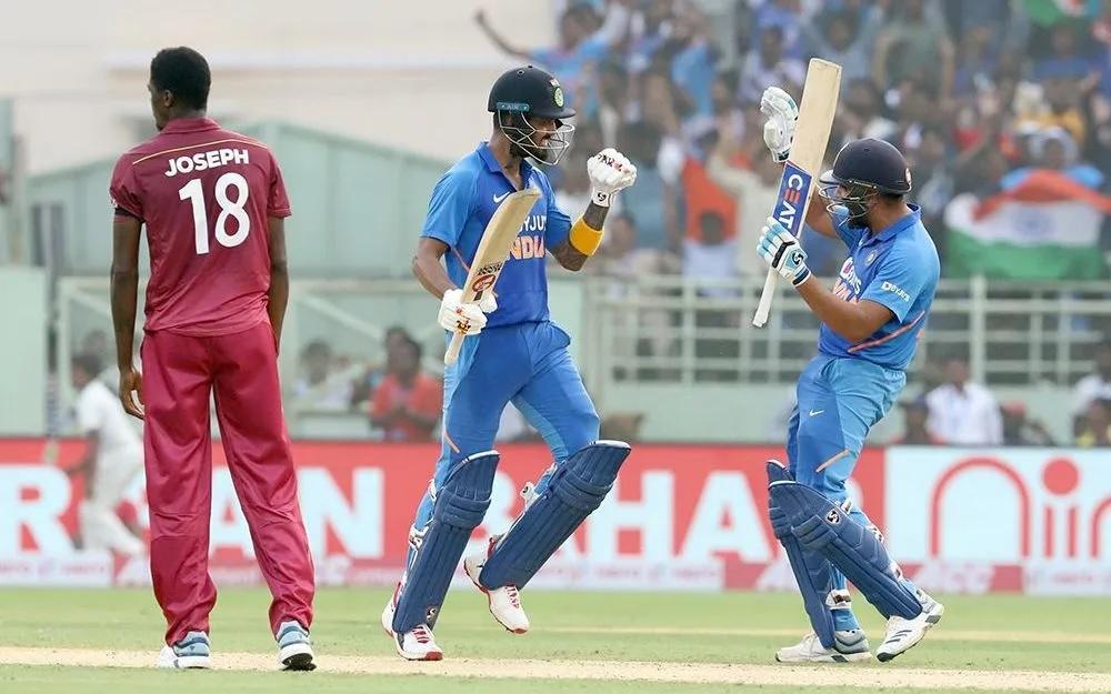 INDvsWI: ভারত ওয়েস্টইন্ডিজকে দ্বিতীয় ওয়ানডেতে ১০৭ রানে হারাল, জয়ে উজ্জ্বল ৩ খেলোয়াড় 1