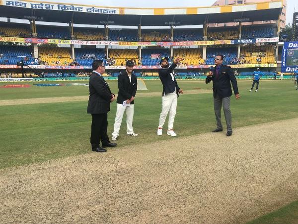 IND vs NZ: বৃষ্টির কারণে প্রথম দিন হলো স্রেফ ৫৫ ওভারের ম্যাচ, ভারত করল ১২২ রান 1