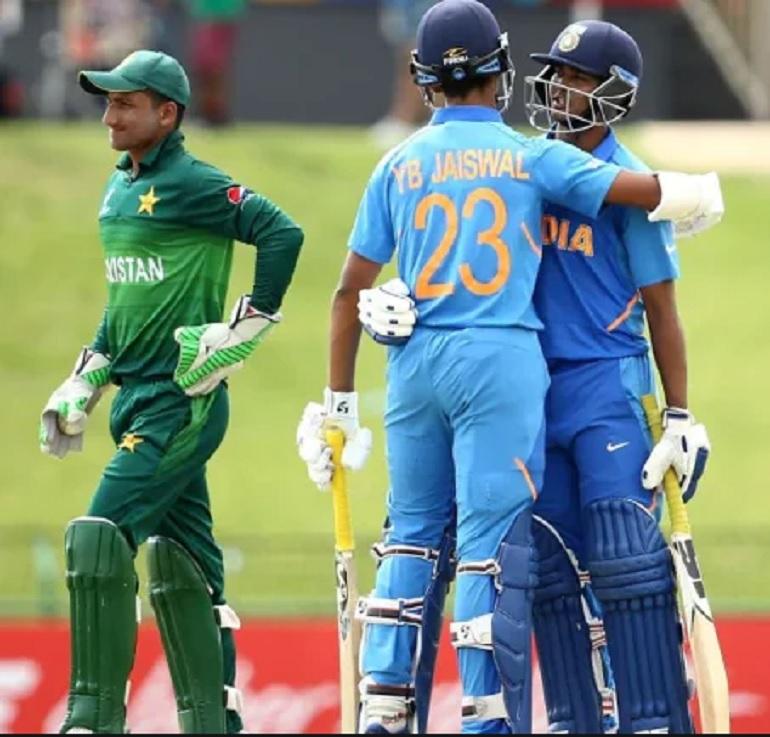 অনুর্ধ্ব ১৯ বিশ্বকাপ: ভারত পাকিস্তানকে ১০ উইকেটে হারিয়ে ফাইনাল করল জায়গা 3