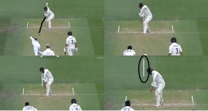 ভিডিয়ো:  জসপ্রীত বুমরাহকে দ্বিতীয় টেস্টের শেষ ওভারগুলিতে দেখা গেলো পুরোনো ছন্দে, হাওয়ায় ওড়ালেন উইকেট 1