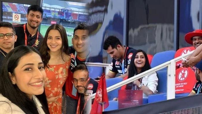 IPL2020: যজুবেন্দ্র চহেল করলেন দীনেশ কার্তিককে আউট, তো দেখার মতো ছিল ধনশ্রী বর্মার রিঅ্যাকশন 2