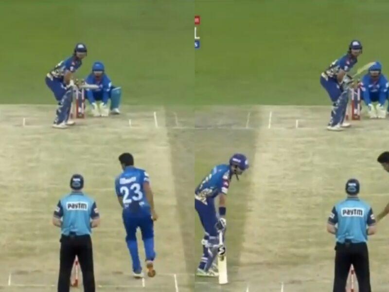 IPL 2020: আর অশ্বিন করলেন ক্রুণাল পাণ্ডিয়াকে মাঙ্কেডিংয়ের চেষ্টা, মুম্বাই ইন্ডিয়ান্স দিল কড়া জবাব 5