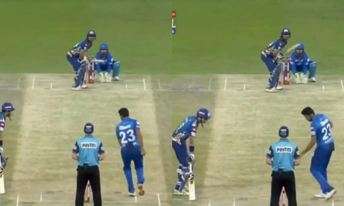 IPL 2020: আর অশ্বিন করলেন ক্রুণাল পাণ্ডিয়াকে মাঙ্কেডিংয়ের চেষ্টা, মুম্বাই ইন্ডিয়ান্স দিল কড়া জবাব 1