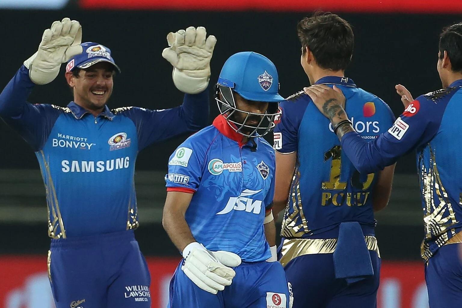 MIvsDC: দিল্লি ক্যাপিটালসকে ৫৭ রানে হারিয়ে মুম্বাই ইন্ডিয়ান্স পেল ফাইনালের টিকিট 3