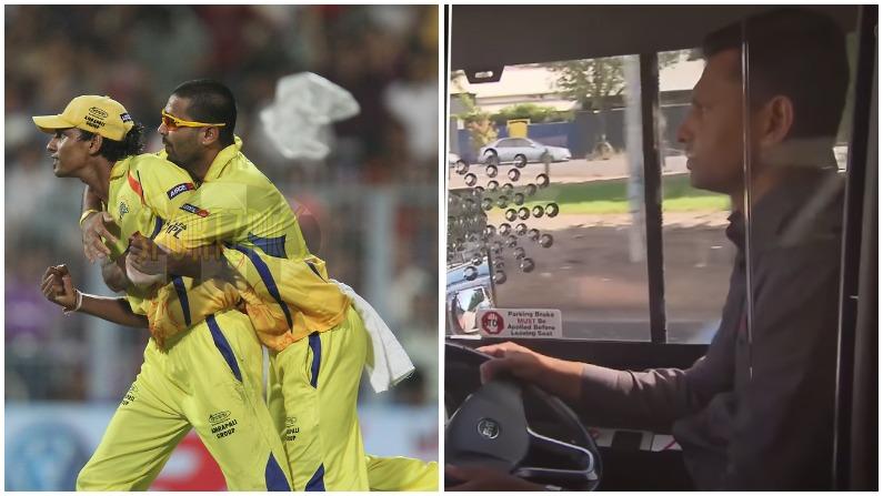 ২০১১ বিশ্বকাপ খেলে ২০১২য় সিএসকে-কে আইপিএল চ্যাম্পিয়ন করে এই তারকা এখন অস্ট্রেলিয়ায় চালাচ্ছেন বাস