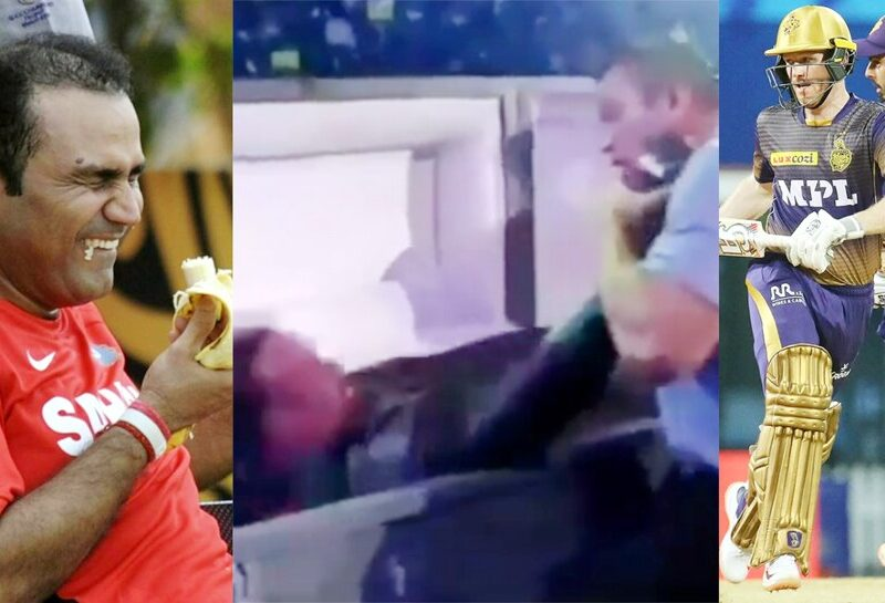 মৃত্যু থেকে বেঁচে ফিরল মুম্বই, WWE এর ভিডিও পোস্ট করে কলকাতাকে নিয়ে খিল্লি ওড়ালেন বীরেন্দ্র সেহওয়াগ 1