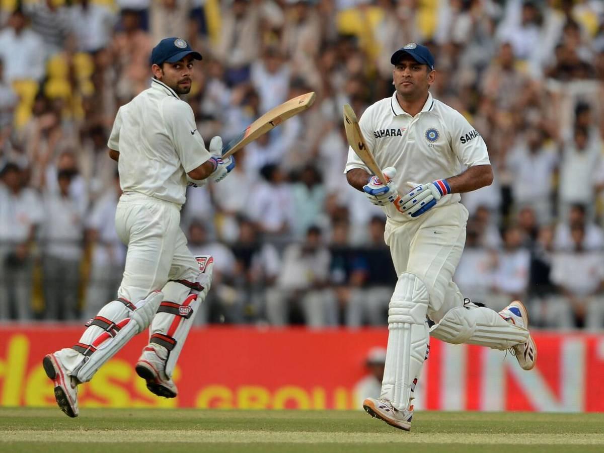MS Dhoni Test Cricket