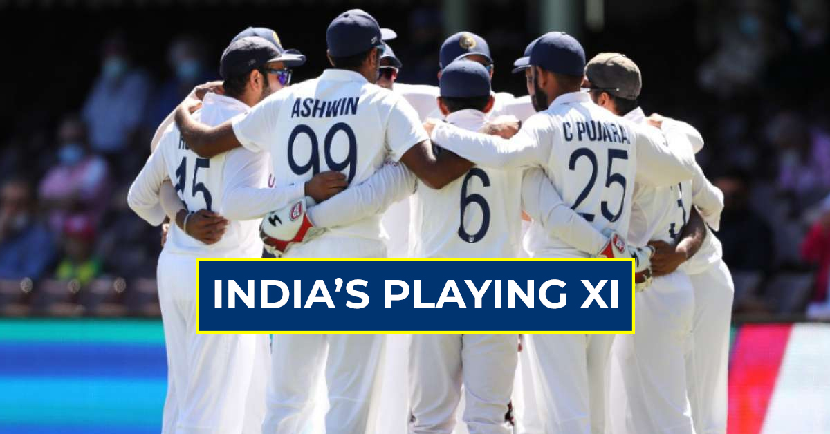 BCCI announces final playing xi for wtc final against new zealand
