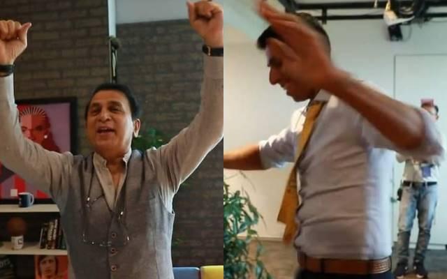 ভিডিও : কমেন্ট্রি ছেড়ে জিলিপি বিক্রি করছেন সুনীল গাভাস্কার! জিলিপি নিয়ে নাচছেন 1