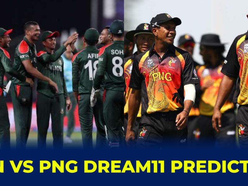 BAN vs PNG Dream11 Prediction, Fantasy Cricket Tips, Dream11 Team, Playing 11, Pitch Report and Injury Update: বাংলাদেশ বনাম পাপুয়া নিউ গিনির মধ্যে টি-২০ বিশ্বকাপের নবম ম্যাচের Dream11 ও ফেন্টাসি ক্রিকেটের বিবরণ 4