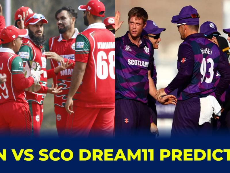 OMN vs SCO Dream11 Prediction, Fantasy Cricket Tips, Dream11 Team, Playing 11, Pitch Report and Injury Update: ওমান বনাম স্কটল্যান্ডের মধ্যে টি-২০ বিশ্বকাপের দশম ম্যাচের Dream11 ও ফেন্টাসি ক্রিকেটের বিবরণ 3