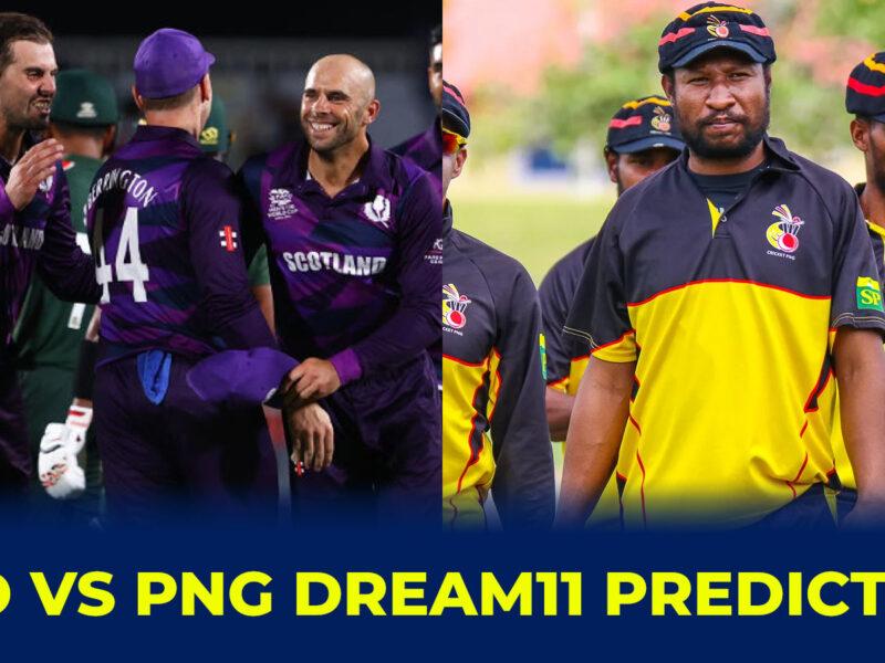 SCO vs PNG Dream11 Prediction, Fantasy Cricket Tips, Dream11 Team, Playing 11, Pitch Report and Injury Update: স্কটল্যান্ড বনাম পাপুয়া নিউগিনির মধ্যে টি-২০ বিশ্বকাপের পঞ্চম ম্যাচের Dream11 ও ফেন্টাসি ক্রিকেটের বিবরণ 8