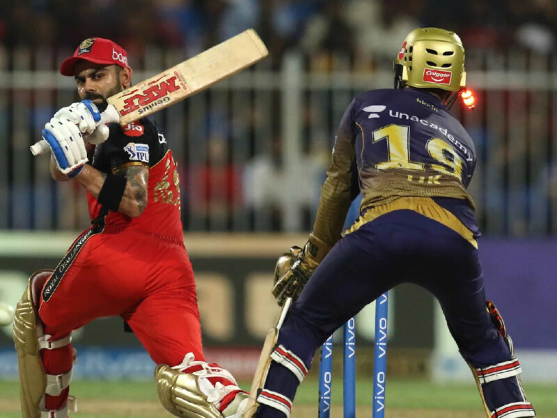 IPL 2021; KKR vs RCB: সুনীল নারাইন তার দুর্দান্ত বোলিংয়ের জন্য প্রশংসিত হচ্ছে, অন্যদিকে বিরাট কোহলিকে জানাচ্ছে দুঃখের সাথে বিদায় 1